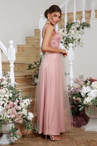 лиловое вечернее платье. Платье Вайнона б/р. Цвет: лиловый цена