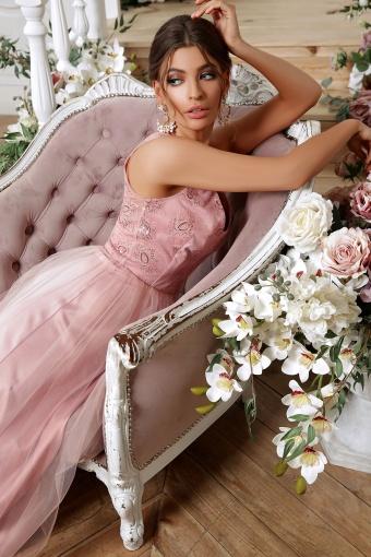 лиловое вечернее платье. Платье Вайнона б/р. Цвет: лиловый в Украине