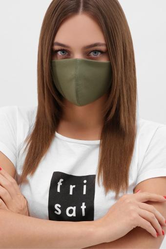 черная маска на лицо. Маска №5. Цвет: хаки цена