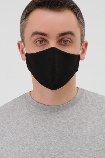 черная маска на лицо. Маска №5. Цвет: черный в Украине