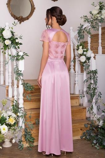 синее платье в пол. Платье Лорена к/р. Цвет: лиловый2 в интернет-магазине