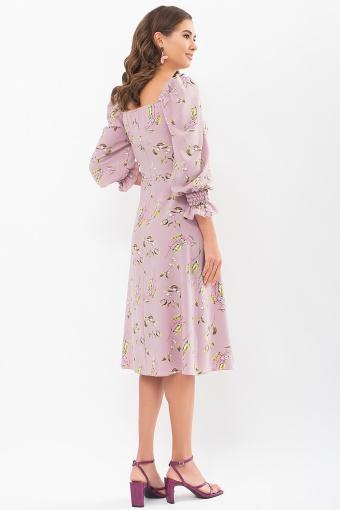 . Платье Пала д/р. Цвет: лиловый-цветы-ягоды в Украине