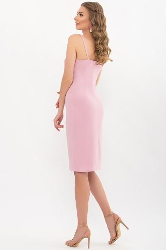 черное платье на тонких бретелях. Платье Кеори б/р. Цвет: лиловый в интернет-магазине