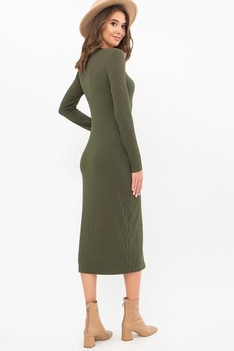 . Платье Некста д/р. Цвет: хаки в интернет-магазине
