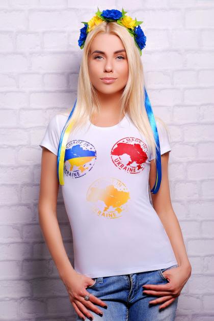 . Made in Ukraine Футболка-2. Цвет: принт