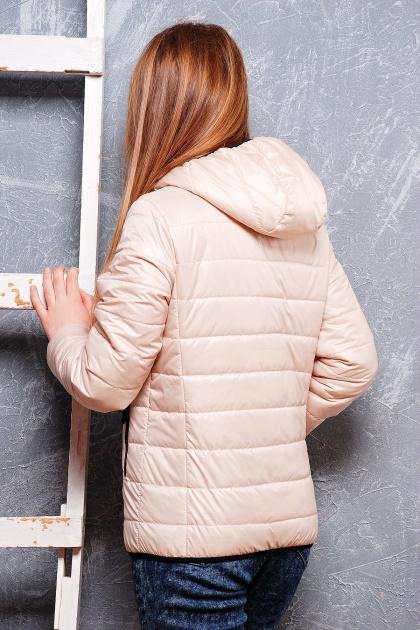 черная спортивная куртка. куртка Смарт2. Цвет: св. бежевый