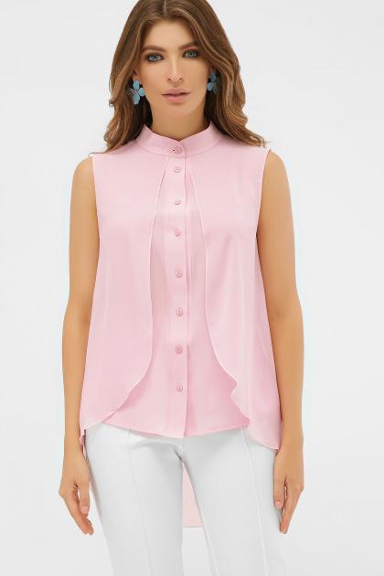 розовая блузка без рукавов. блуза Санта-Круз б/р. Цвет: розовый