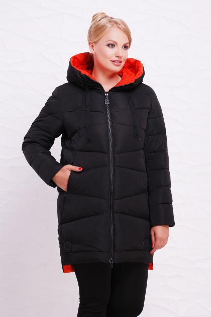 . Куртка 16-110. Цвет: черный