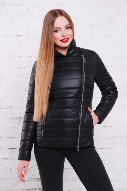 короткая черная куртка. куртка Майори. Цвет: черный
