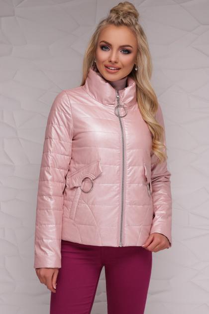 куртка цвета пудры на весну. Куртка 18-126. Цвет: пудра
