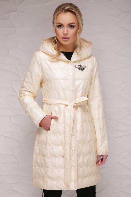легкая бежевая куртка. Куртка 18-112. Цвет: бежевый