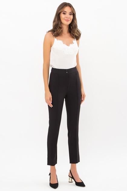 черные брюки со стрелками. брюки Бенжи. Цвет: черный