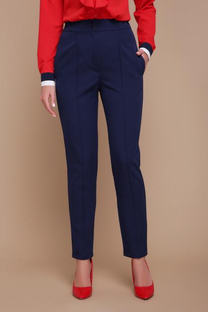 черные брюки со стрелками. брюки Бенжи. Цвет: синий