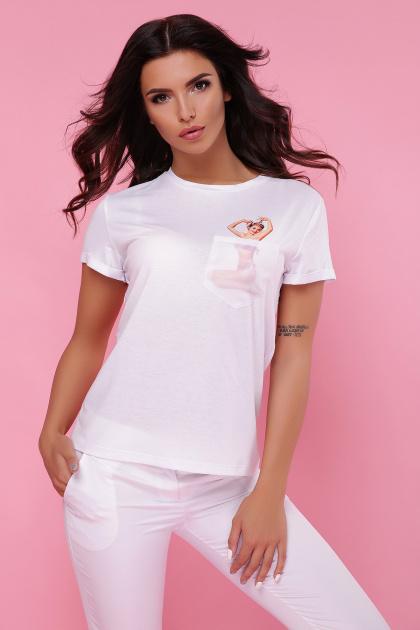 футболка из вискозы с принтом. Pin up Girl-2 футболка Boy-2. Цвет: принт