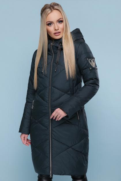изумрудная зимняя куртка. Куртка 899. Цвет: изумруд