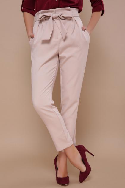 брюки 7/8 цвета хаки. брюки Челси. Цвет: св. бежевый