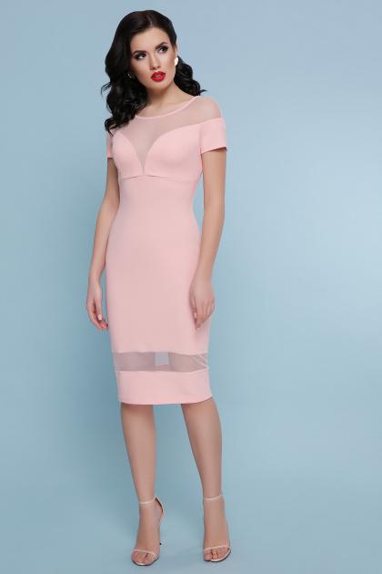. платье Владана 2 к/р. Цвет: персик