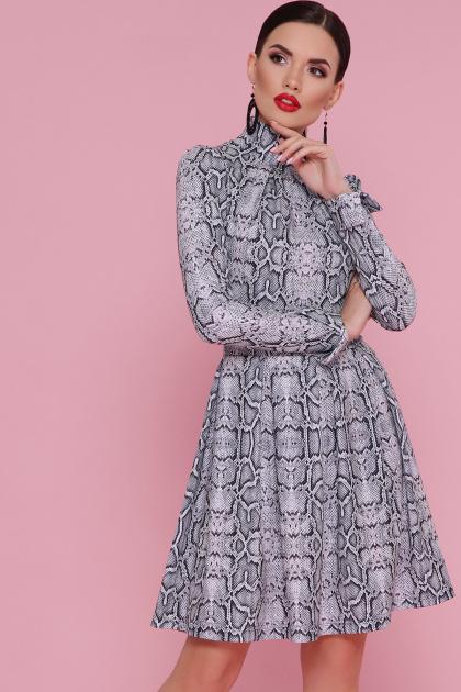 . Питон платье Эльнара д/р. Цвет: принт