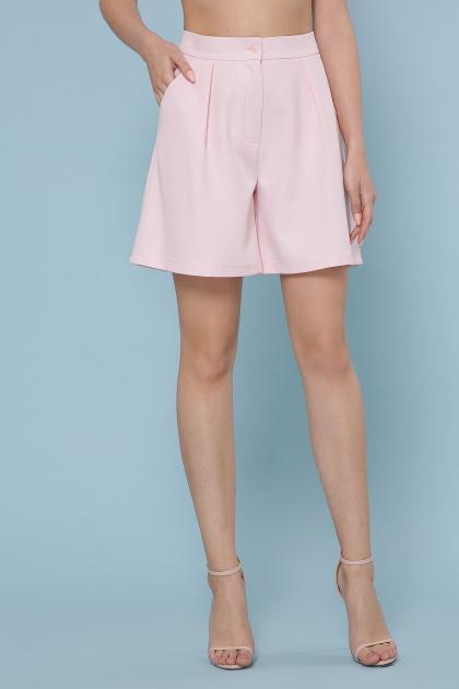 летние женские шорты. шорты Шери. Цвет: персик