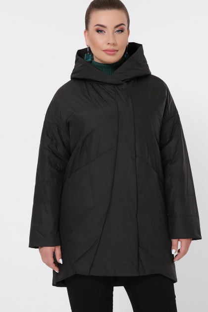 батальная черная куртка. Куртка 32-Б. Цвет: черный