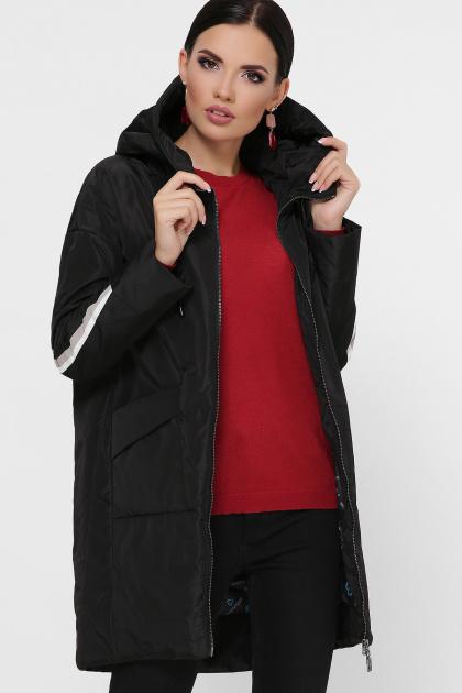 демисезонная серая куртка. Куртка 52. Цвет: черный