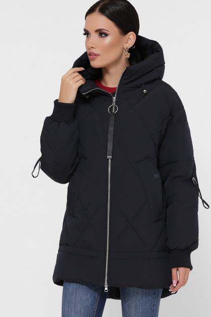 темно-зеленая зимняя куртка. Куртка М-93. Цвет: 14-т.синий