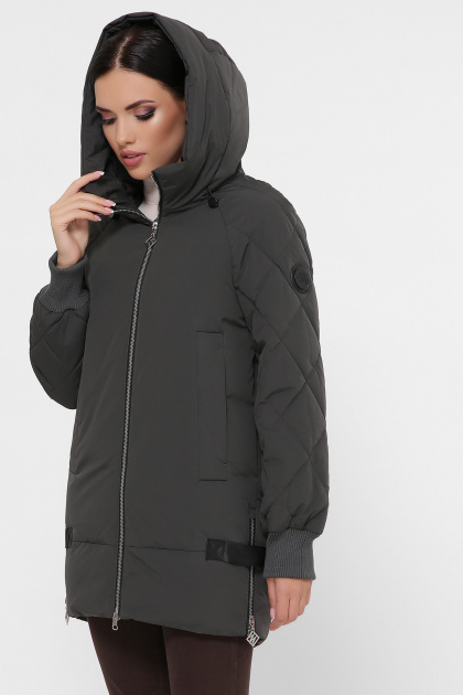 синяя зимняя куртка. Куртка М-101. Цвет: 16-хаки