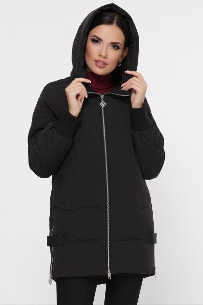 синяя зимняя куртка. Куртка М-101. Цвет: 01-черный