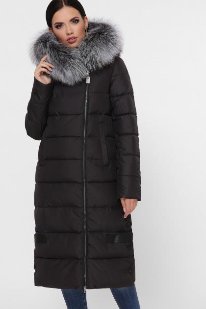 длинная куртка хаки. Куртка М-89. Цвет: 01-черный