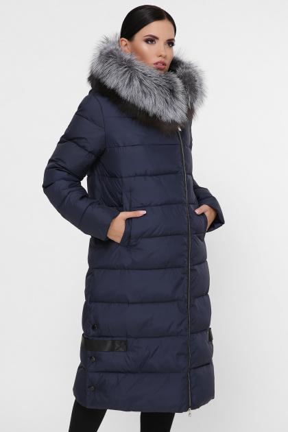 серая куртка на молнии. Куртка М-89. Цвет: 14-т.синий