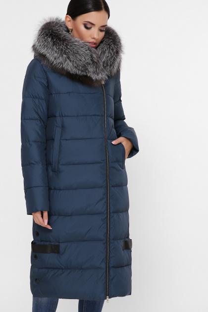 серая куртка на молнии. Куртка М-89. Цвет: 08-волна