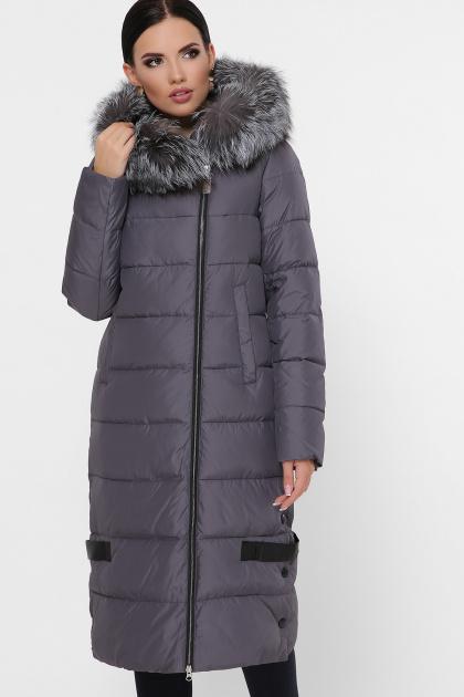 серая куртка на молнии. Куртка М-89. Цвет: 11-серый