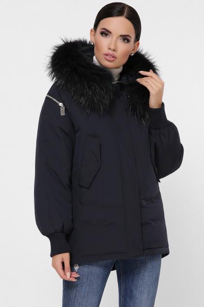 куртка цвета хаки с мехом. Куртка М-74. Цвет: 14-т.синий