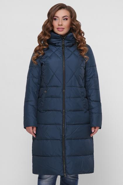 изумрудная куртка больших размеров. Куртка М-123. Цвет: 08-изумруд