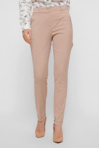 узкие бежевые брюки. брюки Астор. Цвет: бежевый