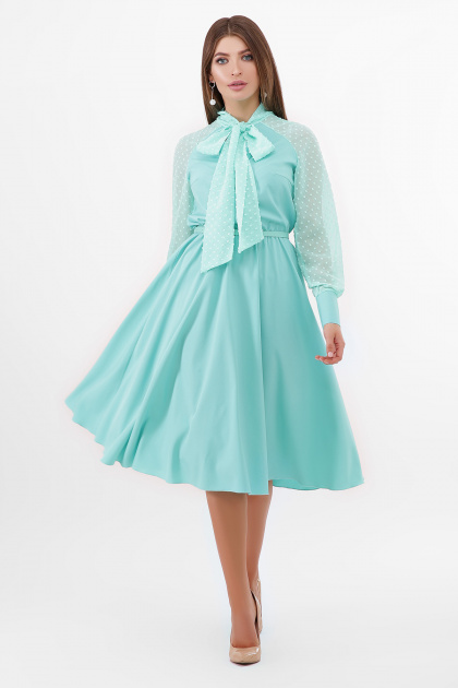 . платье Аля-1д/р. Цвет: мята