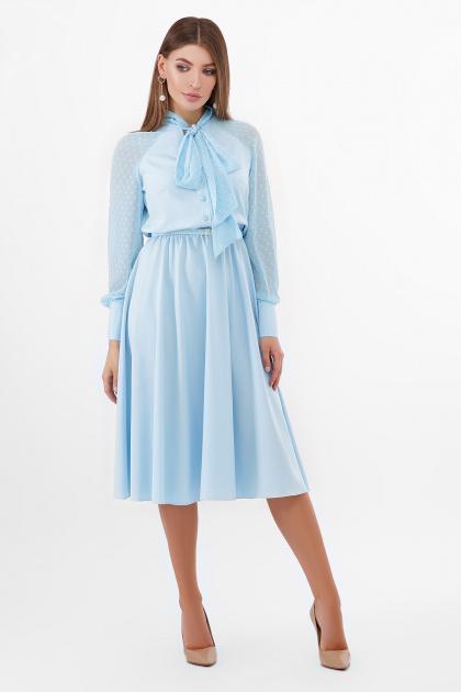 . платье Аля-1д/р. Цвет: голубой