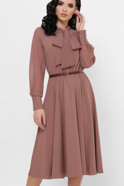 . платье Аля-1д/р. Цвет: капучино