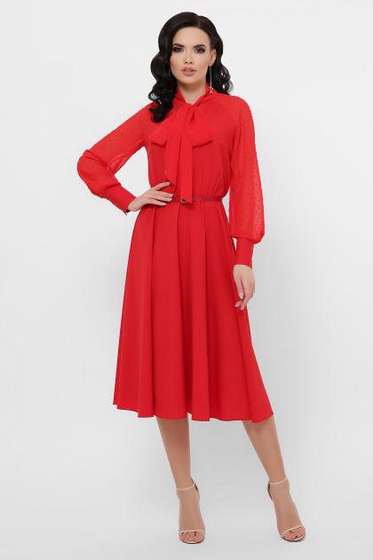 . платье Аля-1д/р. Цвет: красный