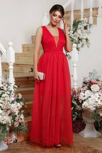 . Платье Шелли б/р. Цвет: красный
