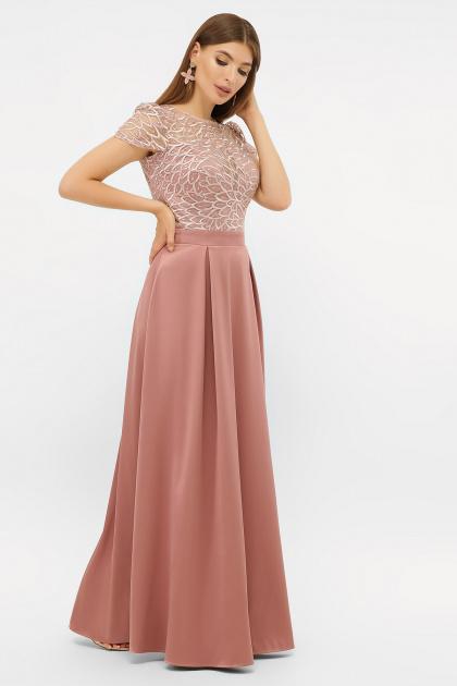 лиловое вечернее платье. платье Лорена к/р. Цвет: лиловый1