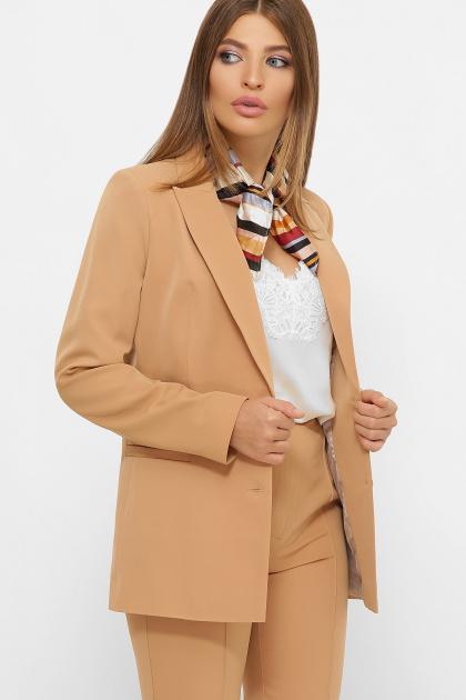 женский пиджак хаки. пиджак Патрик 2. Цвет: песочный