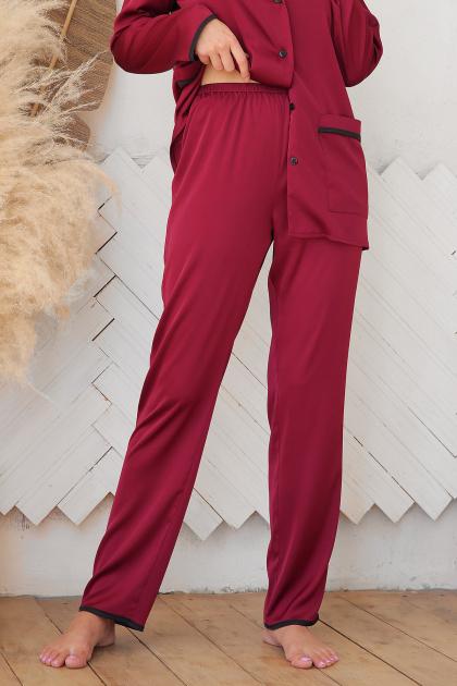 . штаны Зоряна. Цвет: бордо