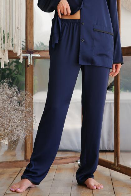 . штаны Зоряна. Цвет: синий