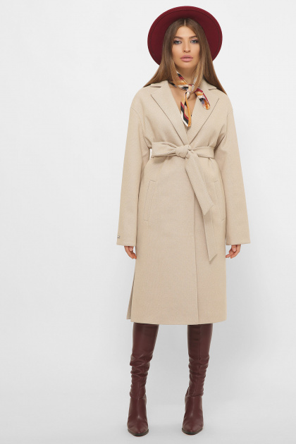 . Пальто MS-267. Цвет: 266-кремовый