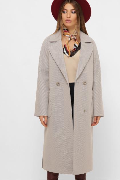 . Пальто MS-265. Цвет: 276-серый