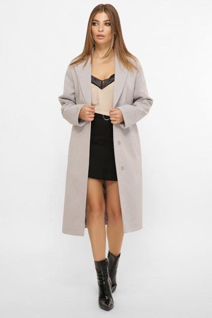 . Пальто MS-267. Цвет: 276-серый