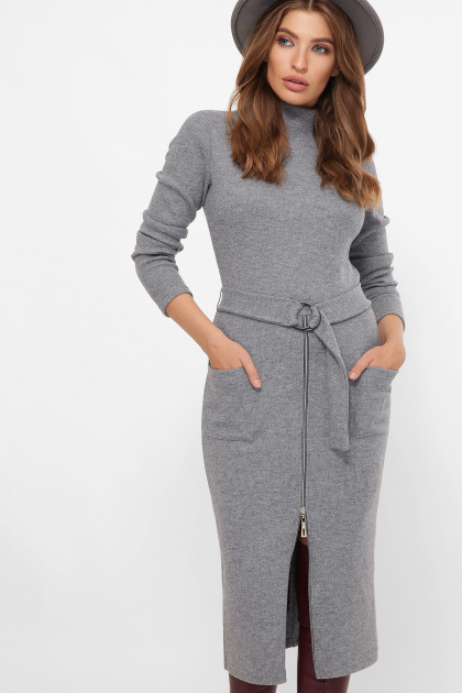 . платье Виталина 1 д/р. Цвет: серый