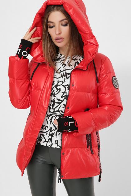 . Куртка 8290. Цвет: 04-красный