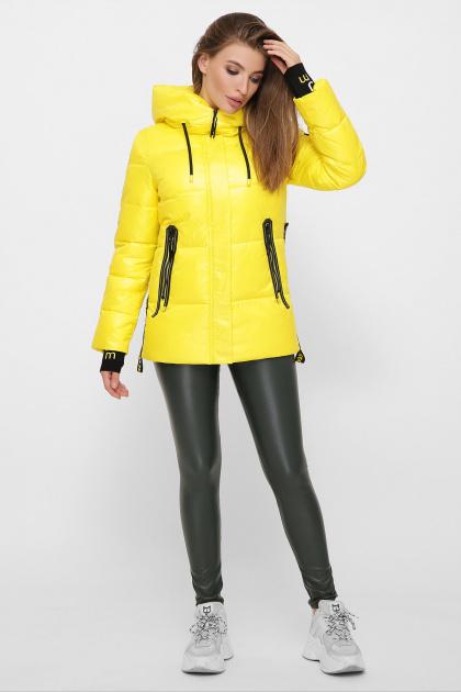 . Куртка 8290. Цвет: 06-желтый
